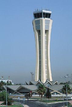 Airport - Control tower, Malaga (Spain) by GOP Oficina de projectos s.a., Bruce S. Fairbanks  #VMZINC