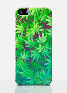 CANNABIS weed mobile phone case. Available on: iPhone 4, iPhone 5, Samsung s3, Samsung s4. by TheSmallPrintCases, £10.99
