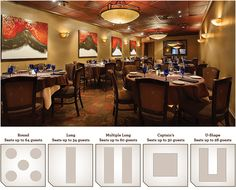 Clear Lake Location – Banquet Room, Seats up to 64 guests
