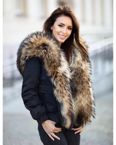 Raincoats For Women Products Info: 5040759787 Fur Fashion, Winter Fashion, Yellow Raincoat, Fabulous Furs, Fox Fur Coat, Raincoats For Women, Fur Collars, Fur Jacket, Mantel