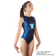 Justaucorps EKI 21S-A - GYMWAY - La boutique du gymnaste