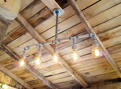 Hey, I found this really awesome Etsy listing at https://www.etsy.com/listing/265228870/rustic-industrial-lighting-chandelier