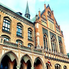 "Academy of Arts in Riga, Latvia.      ""We had church services in a classroom in this building the first trip I made to Riga."""