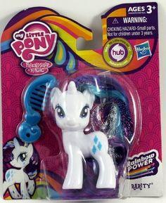 My Little Pony Rainbow Power Rarity Figure Doll My Little Pony Dolls, My Little Pony Rarity, Rainbow Swirl, Rainbow Dash, My Little Pony Poster, Frozen Toys, Mlp, Unicorns, My Little Pony Pictures