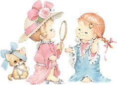 Детские открытки Ruth Morehead