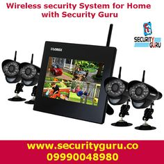 Buy best quality CCTV security cameras and wireless security system for home with Security Guru under a roof.
