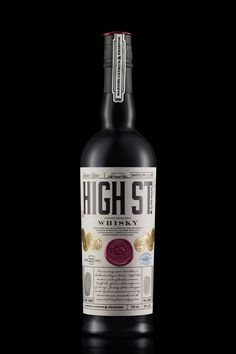 High St. Whiskey — The Dieline - Package Design Resource
