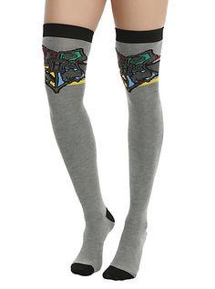 Harry Potter Hogwarts Over-The-Knee SocksHarry Potter Hogwarts Over-The-Knee Socks,