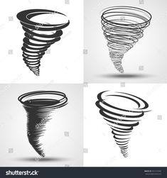 Find Tornado Set Vector Illustrations Weather Conditions stock images in HD and millions of other royalty-free stock photos, illustrations and vectors in the Shutterstock collection. Oz Tattoo, Body Art Tattoos, Tribal Tattoos, Small Tattoos, Tatoos, Wind Tattoo, Tornado Tattoo, Storm Tattoo, Hurricane Symbol