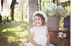 The ORIGINAL Olivia White Flower Girl Lace Dress by kailynzoeandco, $71.95