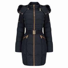 Phase Eight Faux Fur Trim Paula Puffer Cheap Online Sale