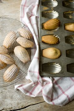 Harry Eastwood's Madeleines from The Skinny French Kitchen #madeleines #baking #skinny Photograph (c) Laura Edwards