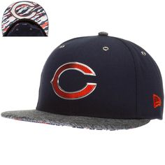 5f514a4926e Chicago Bears 2016 NFL Draft On-Stage Fitted Hat
