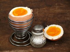 Eier im Dampf gegart - besser als gekocht