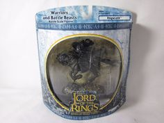LOTR AOME Ringwraith Nazgul Lord of the Rings Armies Middle Earth NEW #PlayAlongToys