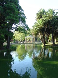 Lago del Parque Rodó. Montevideo, Uruguay.