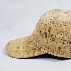 """"""" Cork Cap """"Natural cork fabric is an eco-friendly material that provides a natural look with a distinctively lightweight and soft skin."""