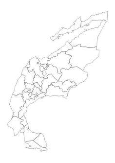 economia do municipio de coloring pages | Mapa de municipios de Sinaloa em blanco para colorear ...