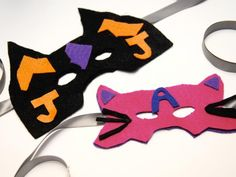 Cool project from http://www.kiwicrate.com/projects/Felt-Superhero-Masks/607: Felt Superhero Masks