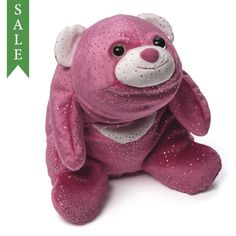 Gund SNUFFLES Valentines Day 3 Piece Collector Set Brown Pink Purple with Hearts