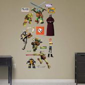 Teenage Mutant Ninja Turtles Heroes Collection Wall Decals by Fathead, Multicolor Wall Sticker, Wall Decals, Teenage Mutant Ninja Turtles, Tmnt, Wall Design, Collection, Products, Wall Stickers, Gadget