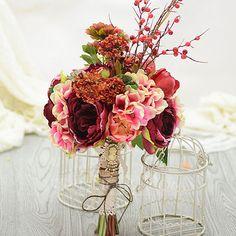 [US$ 52.99] Gorgeous Free-Form Artificial Silk Bridal Bouquets (123068404)