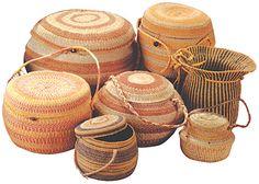 cesterias indigenas, Indigenous baskets