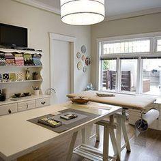 small home sewing studio - Google Search