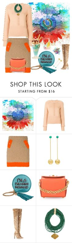 """""""You are What You Believe"""" by rita257 ❤ liked on Polyvore featuring Parvez Taj, Chloé, Boutique Moschino, Paula Mendoza, Skinnydip, Alexander McQueen, Jimmy Choo and Rosantica"""
