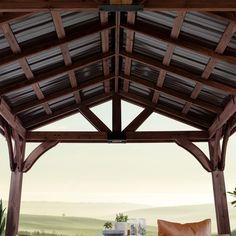 Backyard Discovery Arlington 12 ft. x 12 ft. Wooden Gazebo ... on Backyard Discovery Pavilion id=49872