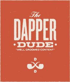 Discover more of the best Vintage, Logos, Dapper, Dude, and Logo inspiration on Designspiration Web Design, Logo Design, Typography Design, Lettering, Men Logo, Type Treatments, Hand Drawn Logo, Logo Images, Layout