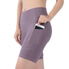 Mifidy Women's Yoga Shorts High Waist with Pockets Workout Sports Shorts Dress Yoga Pants, Yoga Shorts, Sport Shorts, Workout Shorts, Athleisure, Jogging, Pilates, Heaviest Woman, Yoga Pants With Pockets