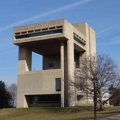 Herbert F. Johnson Museum of Art, Ithaca, NY, USA (1973) Architect: I.M. Pei