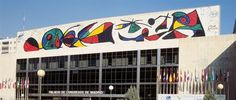 Joan Miro 1979 Mur du Palais de conférences et expositions de Madrid