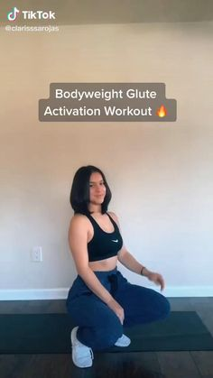 Gym Workout Videos, Gym Workout For Beginners, Fitness Workout For Women, Butt Workout, Bodyweight Glute Exercises, Leg Workout Women, Curves Workout, Fitness Goals, Slim Thick Workout