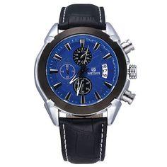 MEGIR Chronograph Casual Watch Men