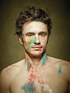 JAMES FRANCO ~ OH BUT I'D LOVE TO BE THE ONE TO CLEAN HIM OFF! ♥ I LOVE THIS MAN! OH HEY NOW~