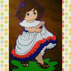 Campesina Princess Peach, Disney Princess, Decorate Notebook, Country Crafts, Costa Rica, Decoupage, Disney Characters, Fictional Characters, Snow White