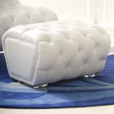 Zoie Ottoman Haziza.com - Contemporary Art, Furniture and Stunning Acrylic Designs