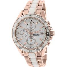 Seiko Women's Sportura SNDW98 Rose Gold Stainless-Steel Quartz Watch
