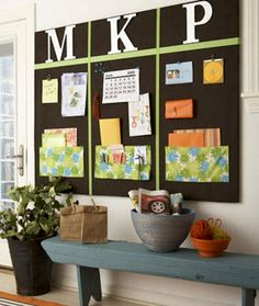 I can see using some like this for a good KWL chart in my classroom.  I would paint the bottom part with chalk paint or white board.