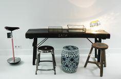 Atelier Anda Roman, Design Concept Store - attic detail. The perfect match!