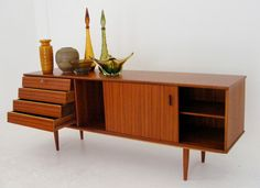 Mid-Century Frystark sideboard in Sapele and Mahogany woods Length – Funky Furniture, Vintage Furniture, Mid Century, Cabinet, Storage, Wood, Home Decor, Clothes Stand, Purse Storage