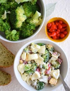 Broccoli, Potato Salad, Food And Drink, Potatoes, Vegetables, Cooking, Ethnic Recipes, Diet, Polish