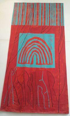 Carpet in Edinburg museum