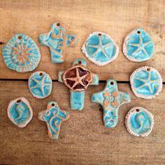 Unique Beachy Pendants for Jewelry Artists