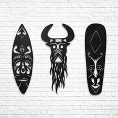 Shona - Metal Dekor www.northshire.net #wall #metal #sign #decor #decoration #interior #interiors #minimal #quote #gift #walldecor #idea #ideas #ethnic #african #mask #africa
