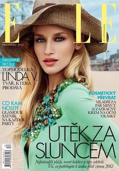 Linda Vojtova  Elle Magazine Cover [Czech Republic] (December 2012)  Highlight Description Linda Vojtova - Elle Magazine Cover (December 2012)