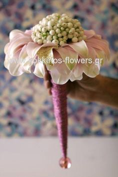 I want this one myslef and i think i could make it! Funky bouquet by Kokkinos Flowers