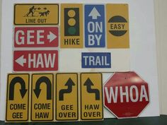 Sled Dog language...yeah!